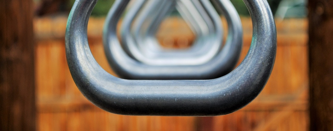 Resources for Parents.  Photo of playground hand-over-hand bars.